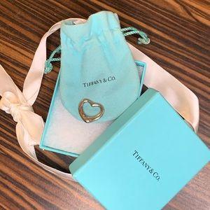 Authentic Tiffany & Co. Heart Pendant Silver
